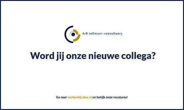 CASE Werken bij AB Software